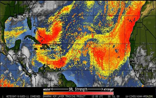 Cuba sufre en verano el impacto nocivo del polvo del desierto del Sahara