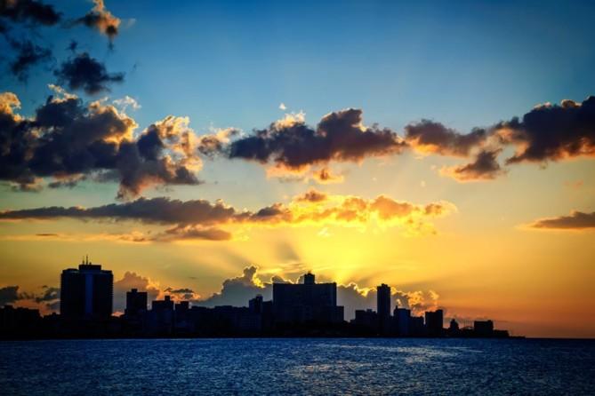 cuba-havana-sunset