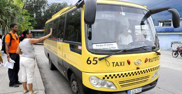 Cuatro nuevas rutas de taxis comenzarán a funcionar en La Habana