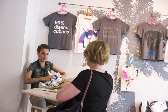 Tienda de diseño Clandestinas, abierta en febrero pasado en la popular calle Villegas