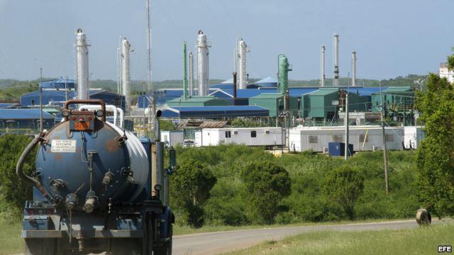 El yacimiento en el que trabajan se encuentra en la zona Boca de Jaruco al este de La Habana.