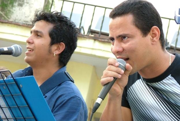 Concierto de Buena Fe en el malecón de La Habana