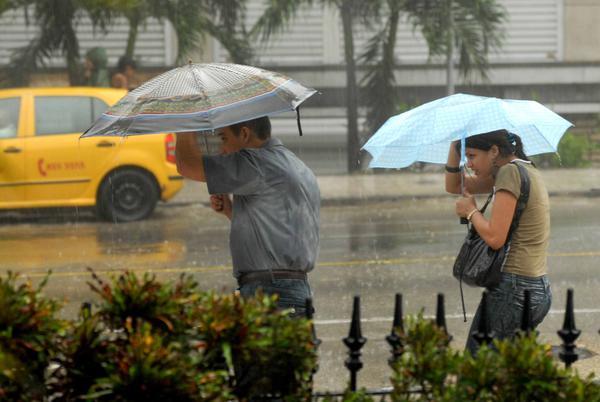 Inundaciones ,lluvias en La Habana