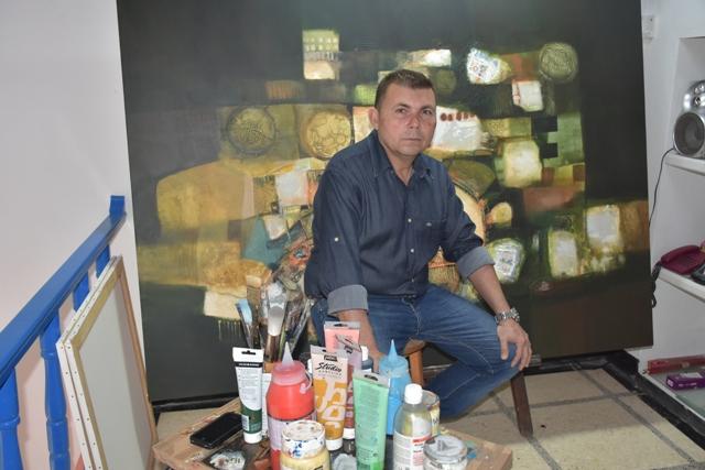 Bruzon en el estudio