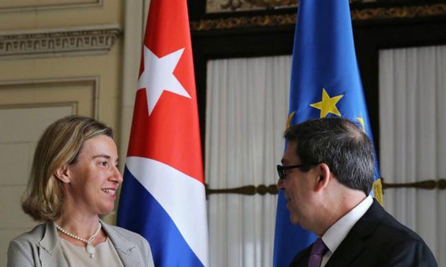kuba-europaeische-union-federica-mogherini-bruno-rodriguez