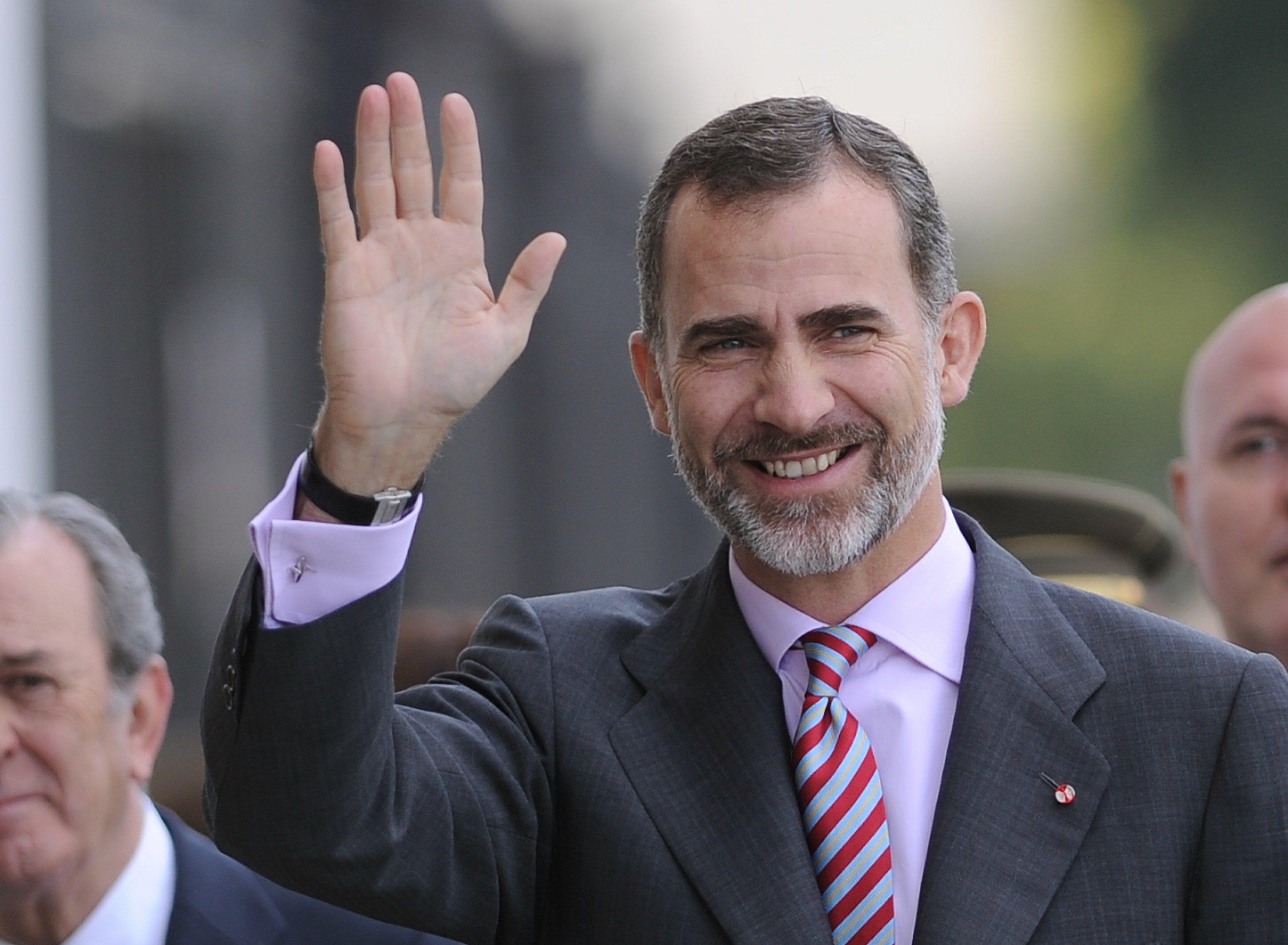 Spanish King Felipe VI
