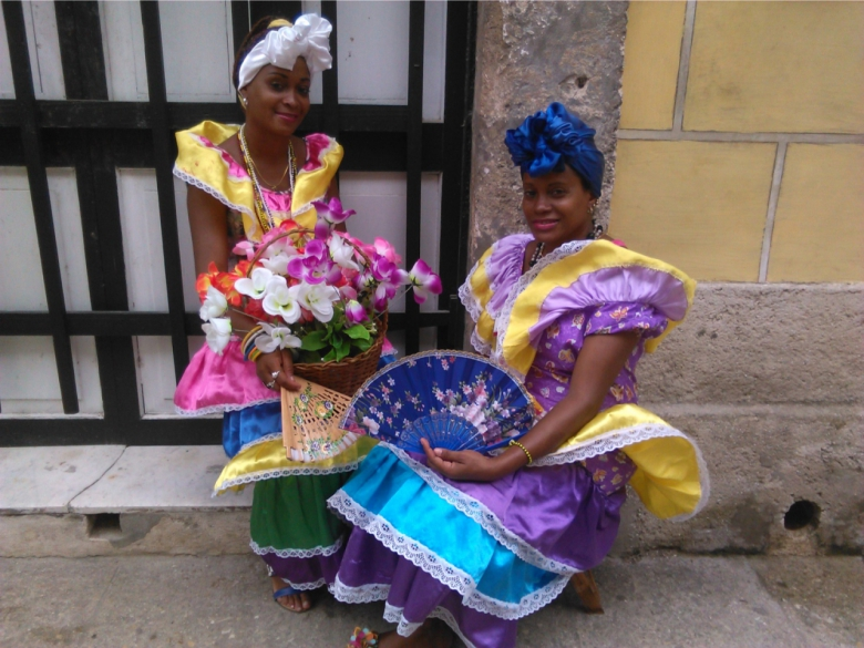 Habaneras en el Casco Histórico. (A. ZAMORA)