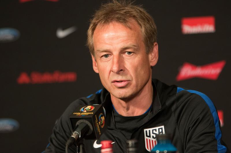 El seleccionador de la selección de fútbol de Estados Unidos, Jürgen Klinsmann. EFE/Archivo