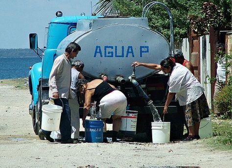 Agua, Cuba, Instituto Nacional de Recursos Hidráulicos (INRH), La Habana