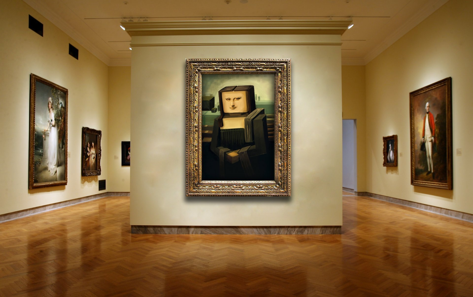 gallery-wall-painting-mona-lisa-cubism