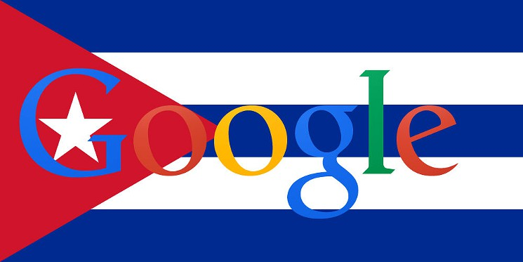 Google Global Caché,Cuba, internet,