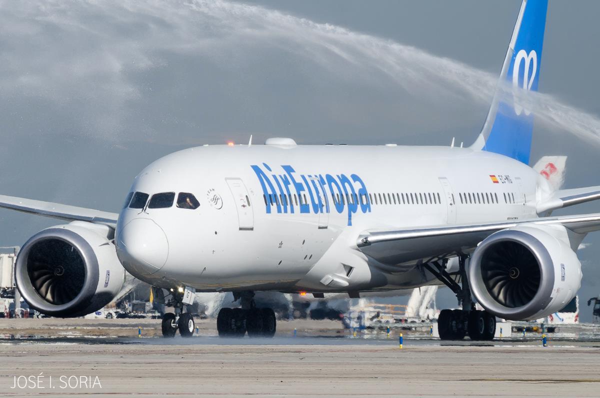 Air Europa,aeropuerto,La Habana