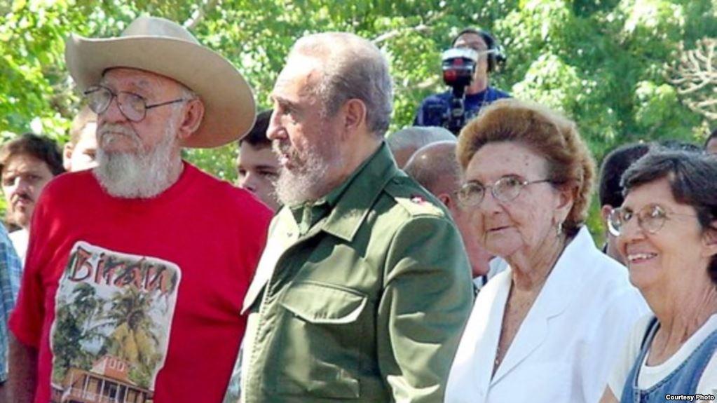 Fallece en Cuba hermana menor de Raúl y Fidel Castro