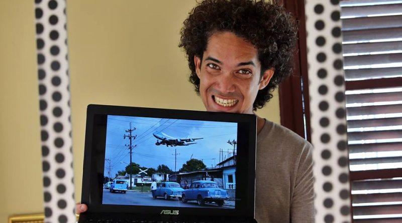 Air Force One Fotógrafo Yander Zamora recibe el premio Rey de España