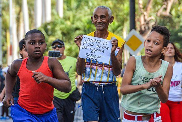 La Habana por la esperanza con Maratón Terry Fox