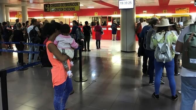 Un día cualquiera en el Aeropuerto de La Habana
