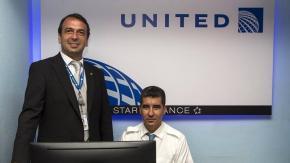 United Airlines,oficina de venta,La Habana,