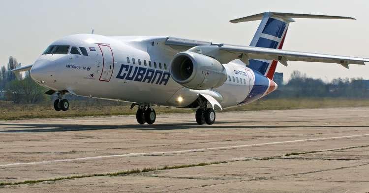 Antonov,Cubana de Aviación,ucraniana,Cuba