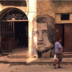 Maisel López y Yulier P, Escuela de Arte San Alejandro, Banksy,La Habana