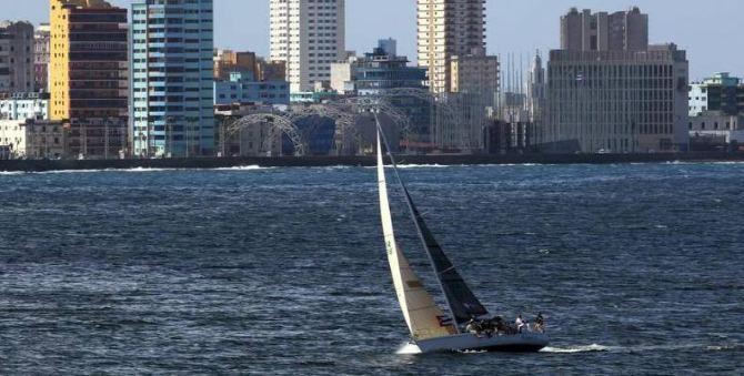 Marineros estadounidenses quieren navegar libremente a Cuba