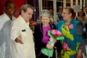 Unesco,Irina Bokova,Cuba,Eusebio Leal,Día Internacional del Jazz