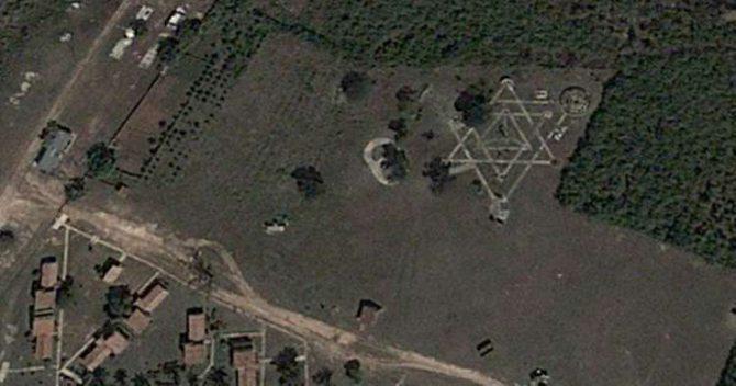 Confusión en las redes por un extraño símbolo en Cayo Saetía, en Holguín