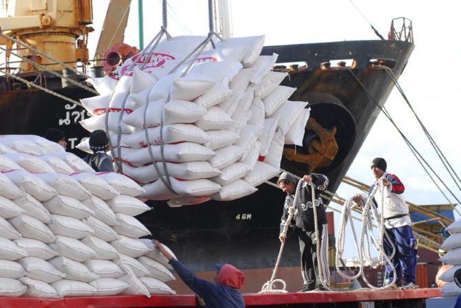 EEUU exporta arroz a Cuba por primera vez en una década