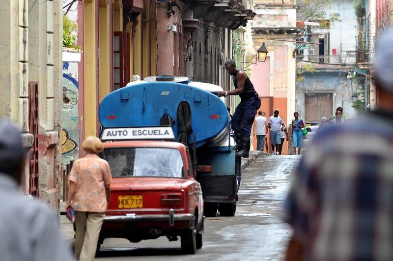 sin agua,La Habana