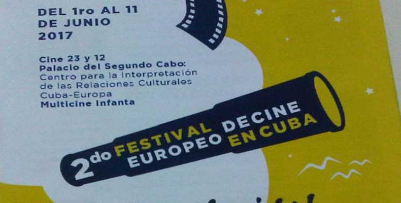 Festival de Cine Europeo en Cuba,