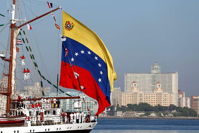 La Habana,buque escuela,Simón Bolívar,Venezuela,Marina de Guerra
