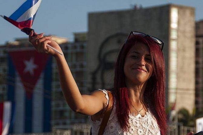 La Habana,desfile de Mayo,Raul Castro,