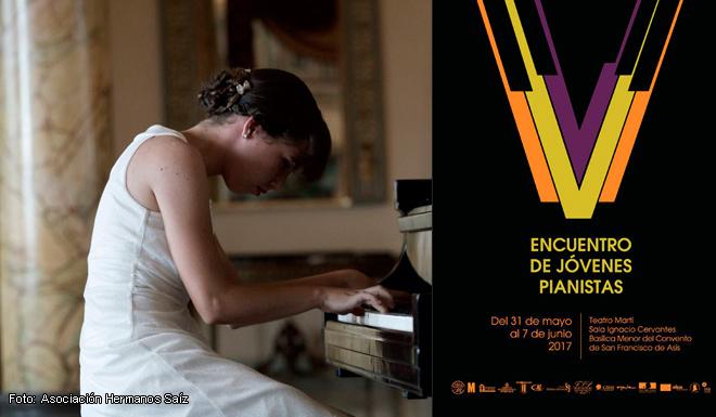 La Habana,encuentro,jóvenes pianistas,