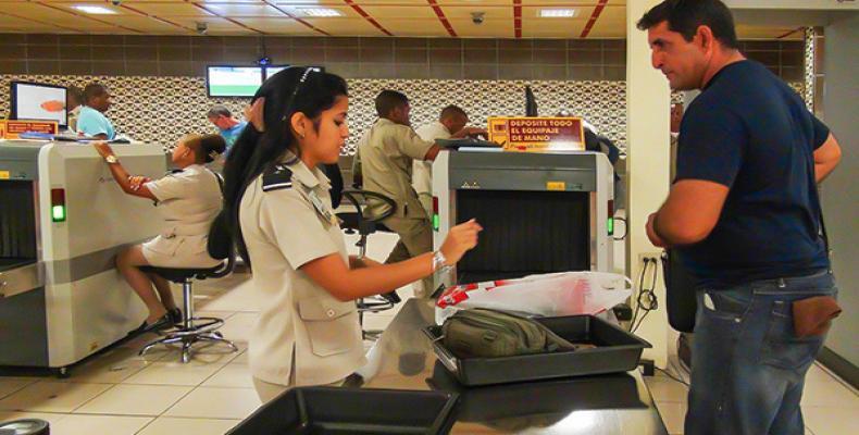 Aduana General de Cuba,droga