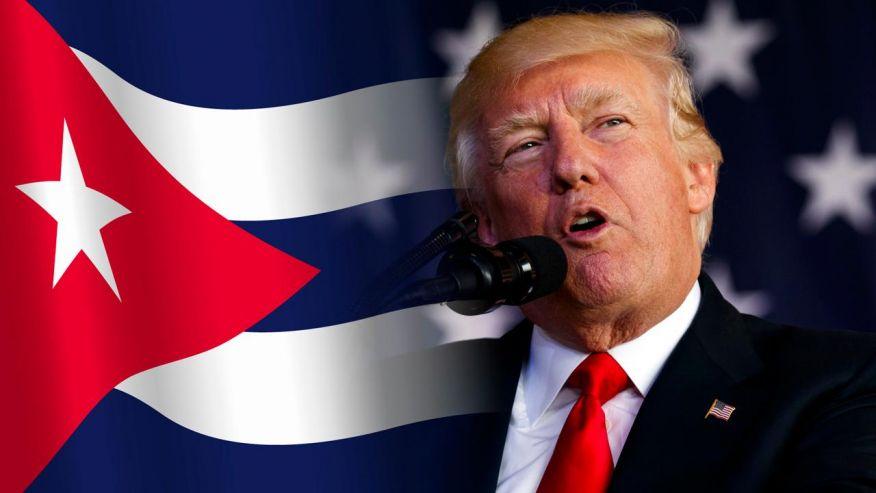 Gobierno de Cuba,Presidente Donald Trump