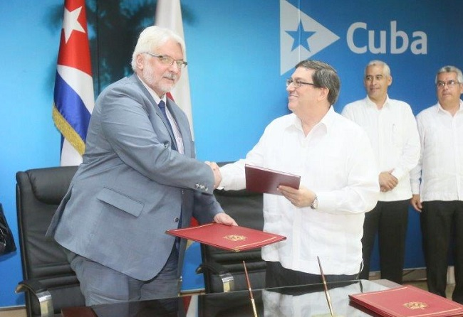 Cuba,Polonia, relaciones bilaterales