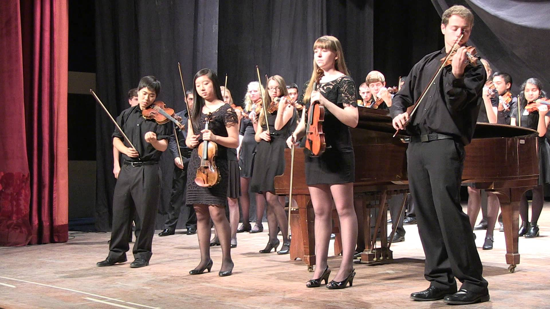 The Chicago Consort, sinfónicas juveniles de Minnesota y de Stanford
