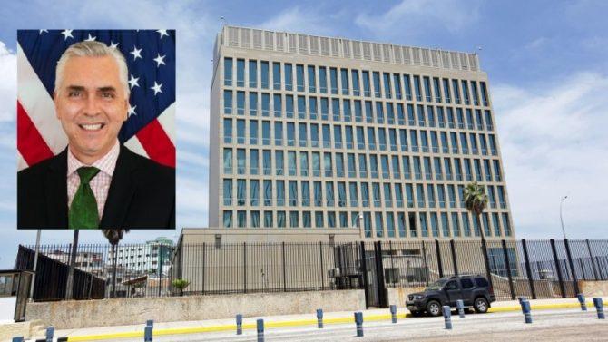 Nombran nuevo jefe de negocios de la embajada de EEUU en La Habana