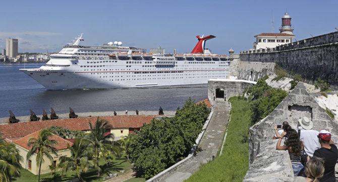 Carnival Paradise causa admiración en La Habana