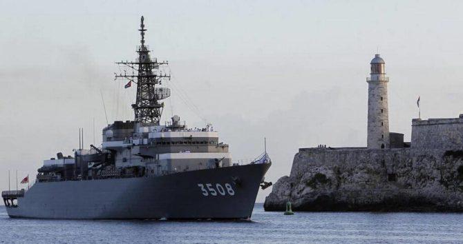 Arribará a La Habana Escuadrón de buques de Fuerzas Marítimas de Japón