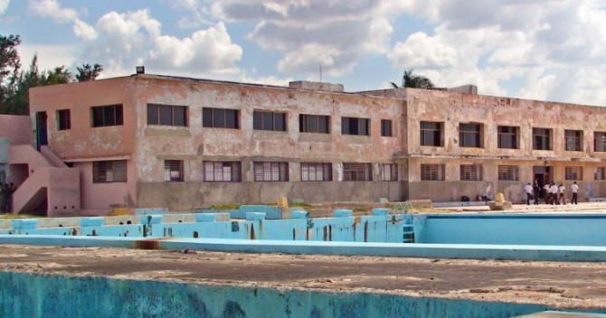 Cierran la escuela nacional de natación Marcelo Salado