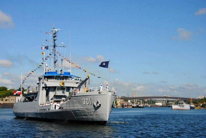 Barco de la marina de la República Dominicana visita La Habana