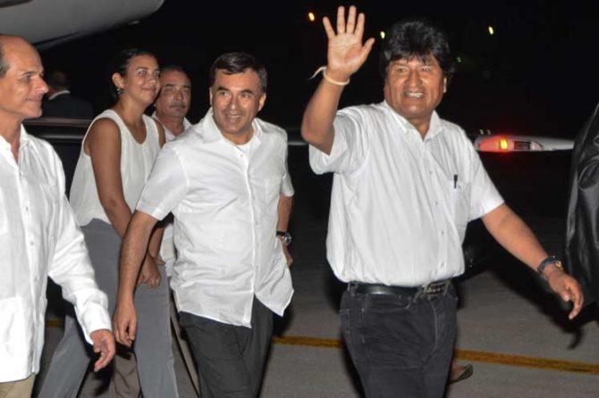 Evo Morales viaja a Cuba antes de la cumbre de Mercosur