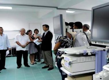 Cuba y Japón exploran la posibilidad de colaborar en proyectos de energía nuclear aplicada a la salud
