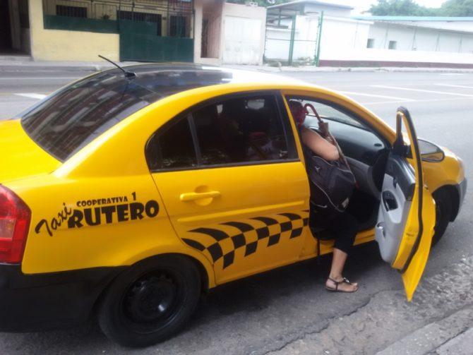 Implementan nuevo recorrido de taxis ruteros en La Habana