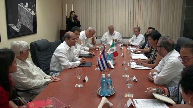 """Cuba y México ratifican en La Habana la """"buena marcha"""" de las relaciones bilaterales"""