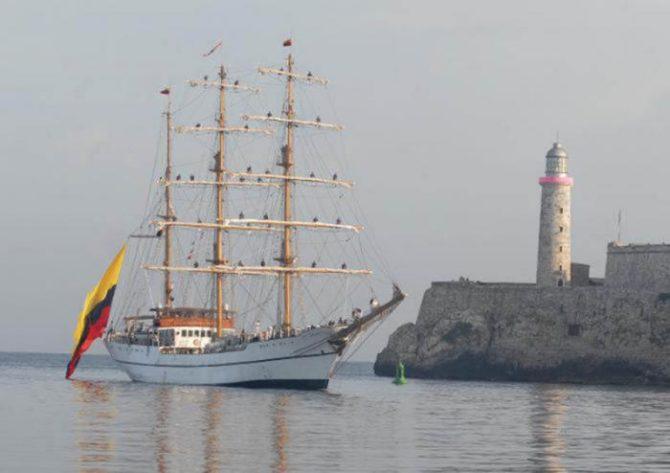 Arribará a La Habana buque escuela Guayas de la Armada de la República de Ecuador