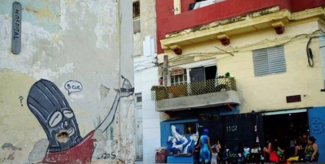 ENFOQUE-Grafiteros cubanos develan crítica social en los muros de La Habana