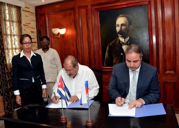 Industrias de Cuba y Rusia avanzan hacia la colaboración