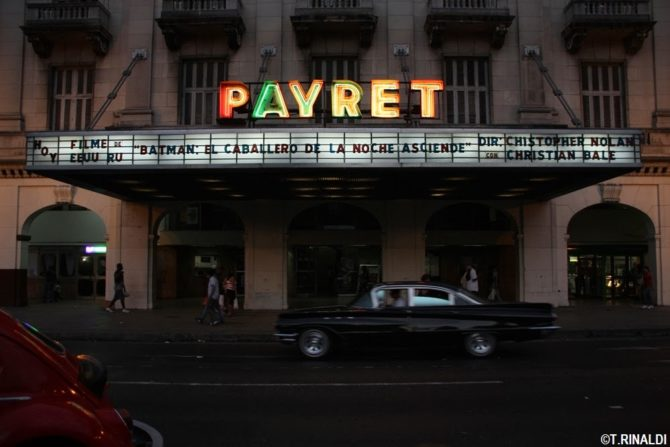 El cine Payret de La Habana se muere