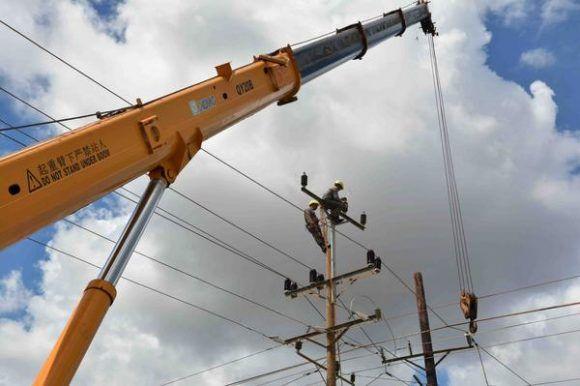 Restablecen en La Habana red primaria de energía eléctrica